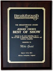 Breakthrough Taxidermy Winner 2014 Mike Gadd